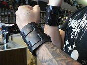 PANTERA ...LEATHER VIKING GAUNTLET (MDLB0064)