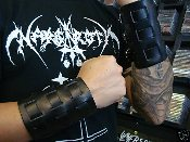 (MEGADETH).....LEATHER VIKING GAUNTLET 2 (MDLB0066)