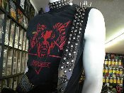 (DISMEMBER)....LEATHER GUITAR STRAP (MDLS0061)