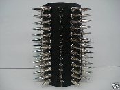 (SARGEIST).....79 Large Spikes Leather Gauntlet (MDLG0014)