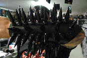 DARK FUNERAL ...BLACK GIANT  SPIKED GAUNTLET    (MDLG0108)
