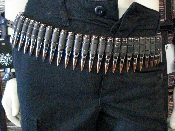 M60 Bullet Belt - Copper Tip Black Link (DEATH METAL) 001