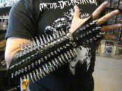 (DROWNIG THE LIGHT).....fistleather spiked gauntlet.(MDLG0025)