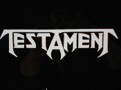 TESTAMENT  decal...(thrash metal)    007