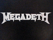 MEGADETH  decal...(thrash metal)    010