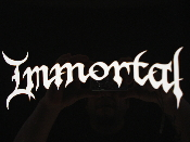 IMMORTAL  decal...(black  metal)    015