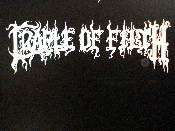 CRADLE OF FILTH  decal...(sold metal)    032