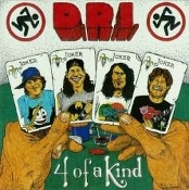 D.R.I (usa) -4 of a kind  (0026)