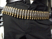 M60 Bullet Belt - Brass Sheell Nickle Link (TRASH METAL)   015