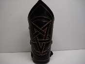 (UDO)  MEDIUM  CARVED PENTAGRAM ARMBAND(MDLG00151)