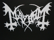 MAYHEM... (black metal).   095