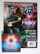 TERRORIZER (UK ) #161 The Return Of Prog. Free Cd's    004