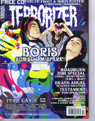 TERRORIZER (UK ) #169 Boris. Free Cd     007