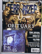 TERRORIZER (UK ) #162 Obituary. Free Cd     009