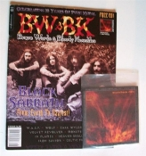 BW & BK (CAN ) #81 Black Sabbath. Free Cd    019