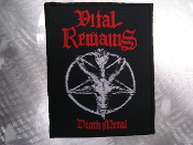 VITAL REMAINS ...(black death)   (900)