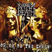 NAPALM DEATH  (uk)-  Oorder Of The Leech (LP)   (11)