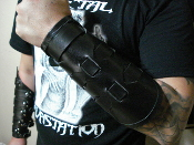 TYPE O NEGATIVE  ...LEATHER STRAPPED GAUNTLET (MDLG0050)