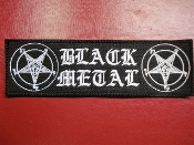 SATANIC BLACK METAL PATCH    1298*