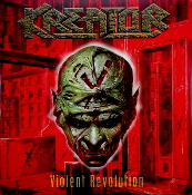 KREATOR  (germany)-  Violent Revolution (2-colored LP)