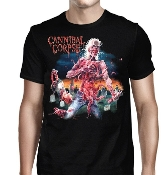 CANNIBAL CORPSE ...(Eaten Back To Life)   Official  X-L