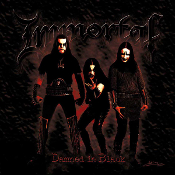 IMMORTAL  (Norway) - Damned On Black (LP)