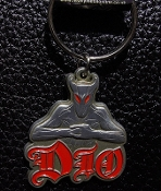 DIO ...(heavy metal) Official Keychain (Murray Logo) 18
