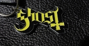 GHOST ...(heavy rock) Official Keychain (Yellow Logo) 19