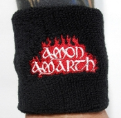 AMON AMARTH ...(melodic death) Official Embroidered Wristband 01