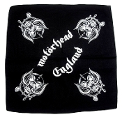 MOTORHEAD ...(nwobhm) Official Screen printed Bandana 02