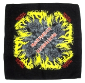 IRON MAIDEN ...(nwobhm) Official Screen printed Bandana 04