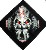 IRON MAIDEN ...(nwobhm) Official Screen printed Bandana 06