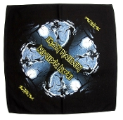 IRON MAIDEN ...(nwobhm) Official Screen printed Bandana 07