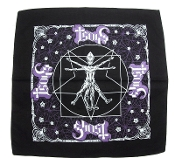 GHOST ...(hard rock) Official Screen printed Bandana 09