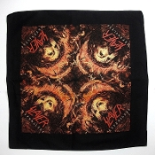 SLAYER  (thrash metal)...Official Screen printed Bandana 12