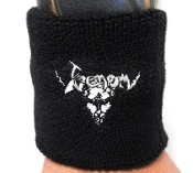 VENOM ...(black metal) Official Embroidered Wristband 12