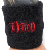 DIO ...(heavy metal) Official Embroidered Wristband 15