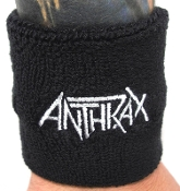 ANTHRAX ...(thrash metal) Official Embroidered Wristband 17
