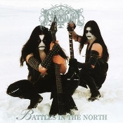IMMORTAL (norway)-  Battles in the North (White Marble LP)