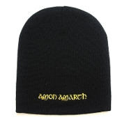 AMON AMARTH ...(melodic death) Beanie Hat Cap Yellow Logo 044