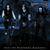 IMMORTAL (Norway) - Sons of Northern Darkness (2LP) Blue/Black
