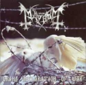 MAYHEM (norway)  Grand Declaration of War