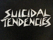 SUICIDAL TENDENCIES decal...(thrash metal)    025