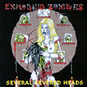 EXPLODING ZOMBIES  (usa)-several severed heads   (0037)