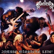 MORTICIAN (usa) -Zombie Massacre Live!   (01)