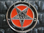 BAPHOMET pentagram (black metal) ...001