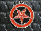 BAPHOMET pentagram (black metal) ...002