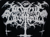 SATANIC WARMASTER, logo (black metal)   LRG  004