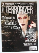 TERRORIZER (UK ) #168 Diamanda Galas Two Free Cd's     001