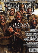 TERRORIZER (UK ) #158 Turisas.  Free Cd    010